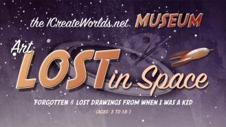 LOST IN SPACE art museum-logo