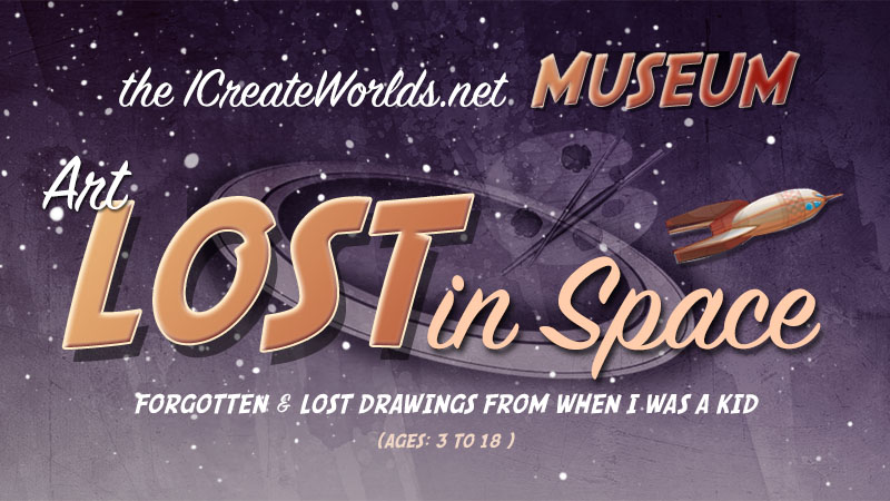 LOST IN SPACE art museum-logo