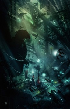 Spaceport_Sci-fi_Art_Luis_Peres