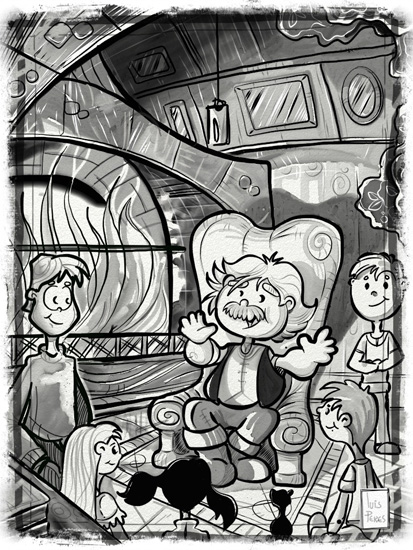 01 telling tales by the fireplace