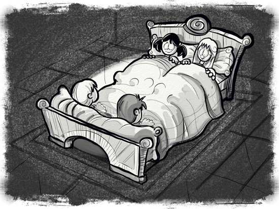 08 - Kids in bed