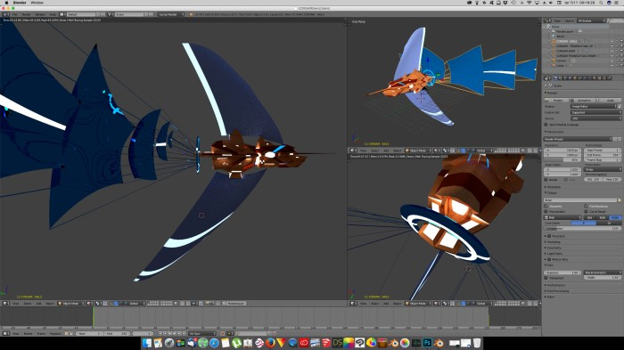 3D Blender - Corsair 03