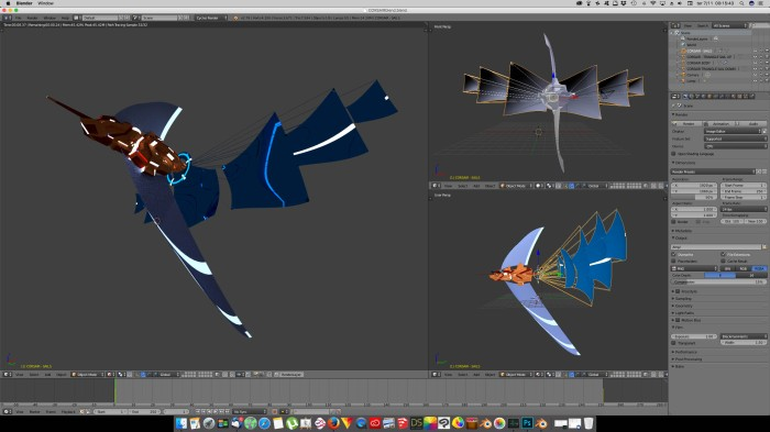 3D Blender - Corsair 04
