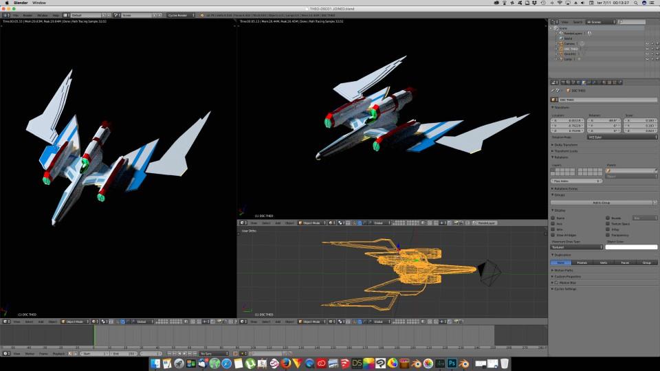 3D Blender - DSC 01