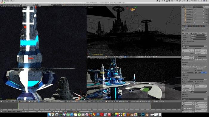3D Blender - Luna 01