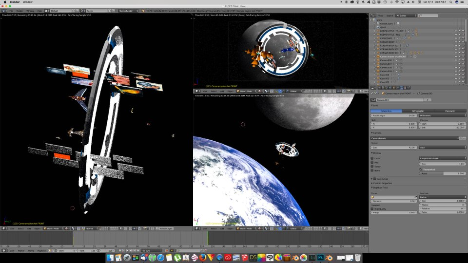 3D Blender - MoonGate01