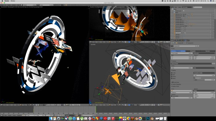 3D Blender - MoonGate02