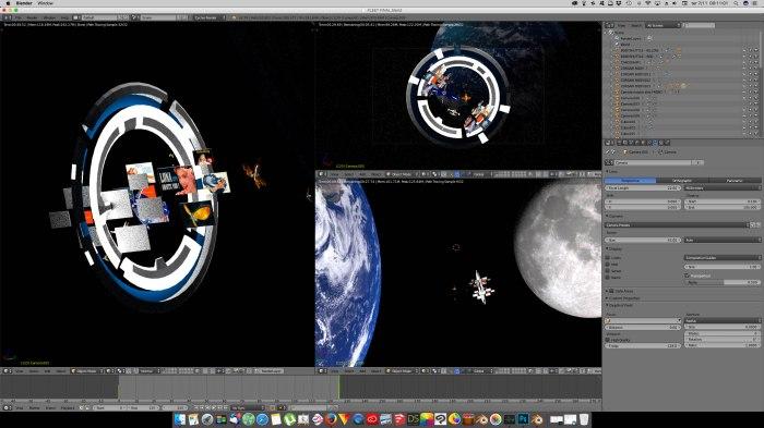 3D Blender - MoonGate03