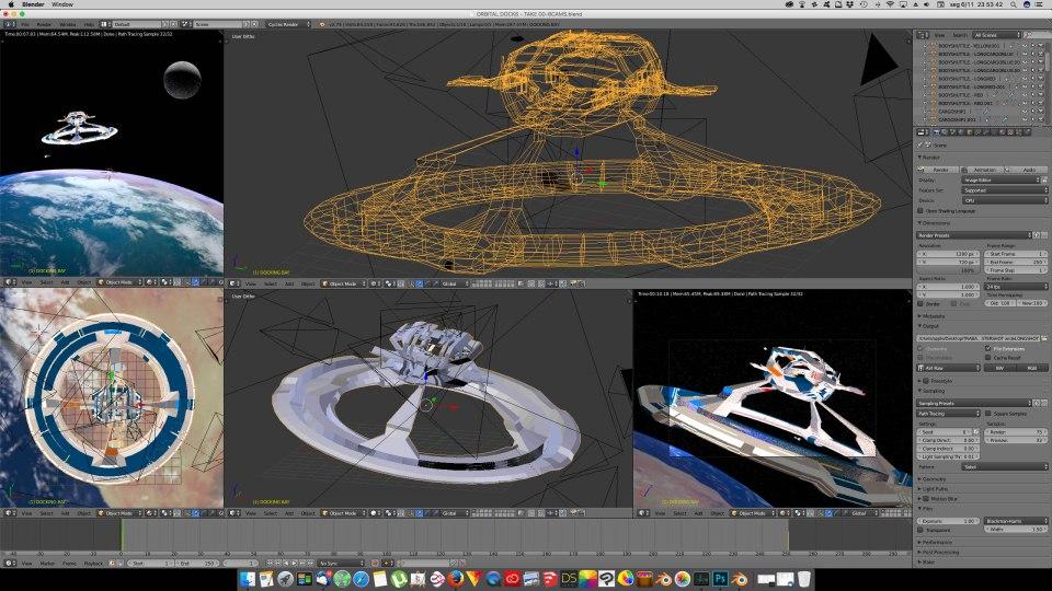3D Blender - Orbital 01