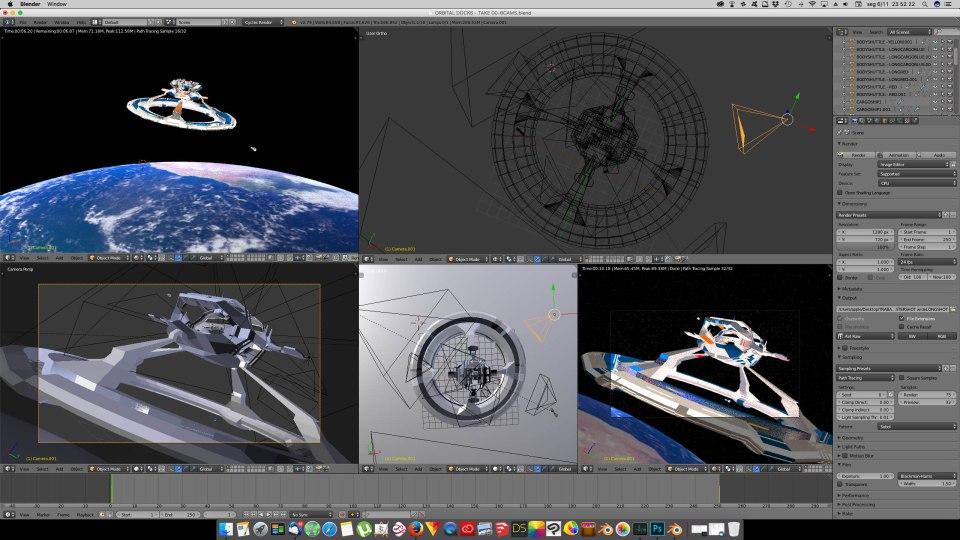 3D Blender - Orbital 02