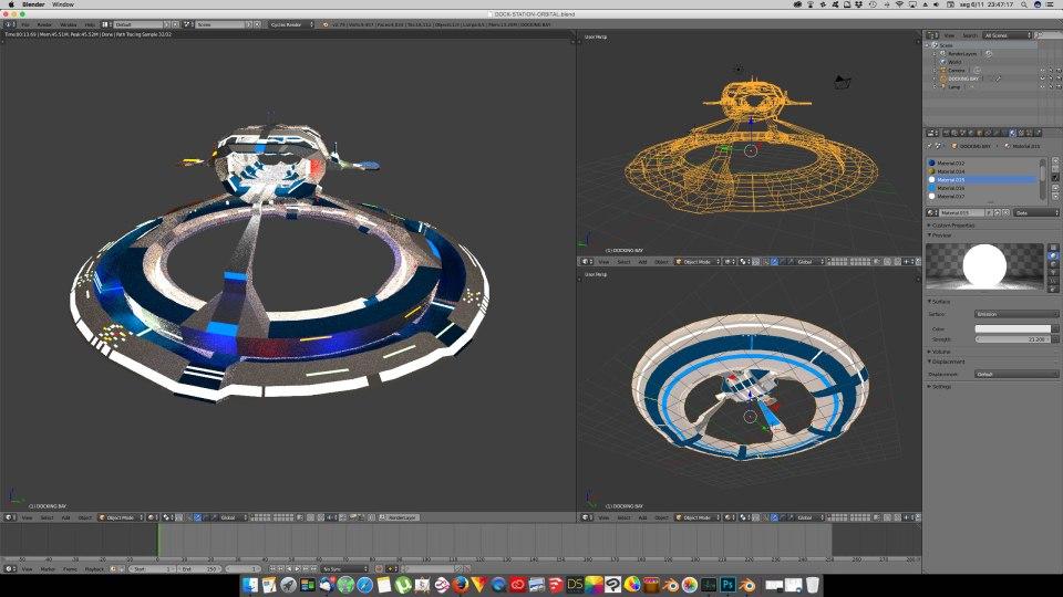 3D Blender - Orbital 03