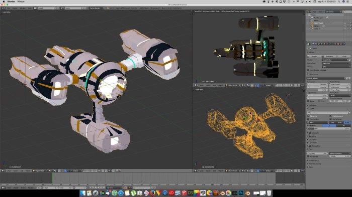 3D Blender - TriCargo 01