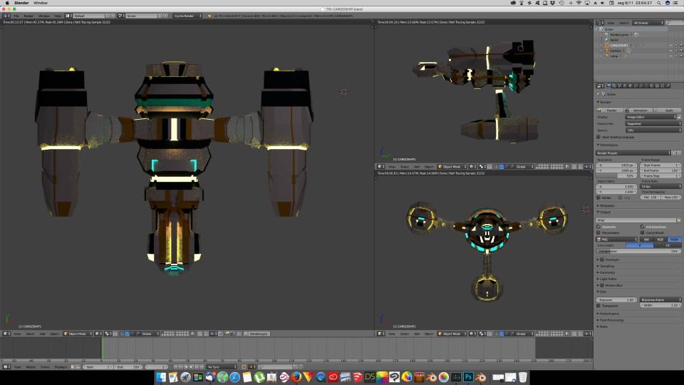 3D Blender - TriCargo 03