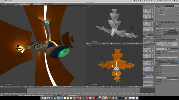 3D Blender - Trisail 01