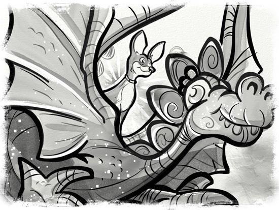 40 - Rainy on dragon