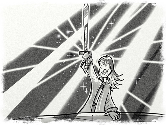42 - Dewi with sword
