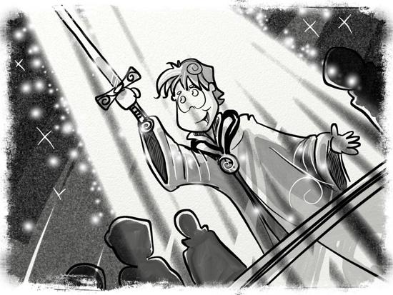 50 - Owain takes the oath