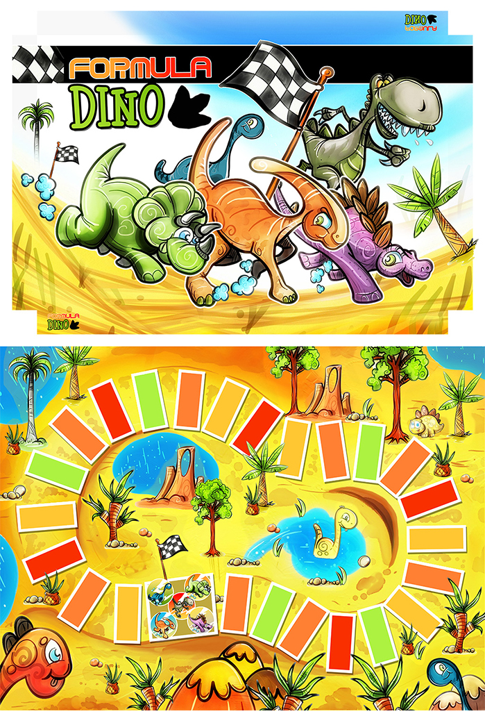 board-games-dino02 cartaz
