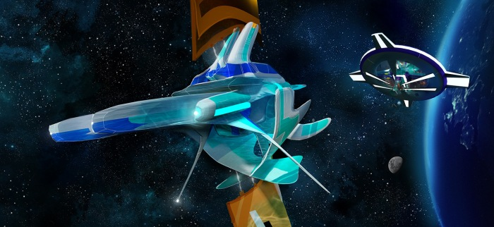 LIGHT-YEARS CONCEPTART - Sailship 01