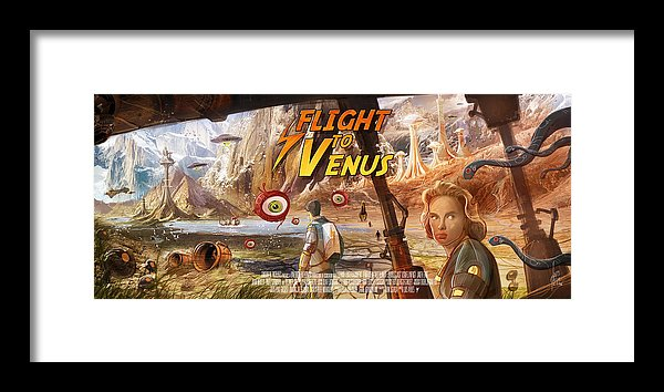 flight-to-venus-fake-movie-poster-luis-peres-framed