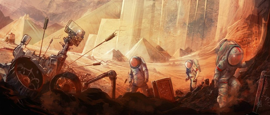Monuments Of Mars 1