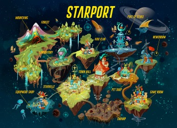 STARPORT - Version 01 - 1500X Sample